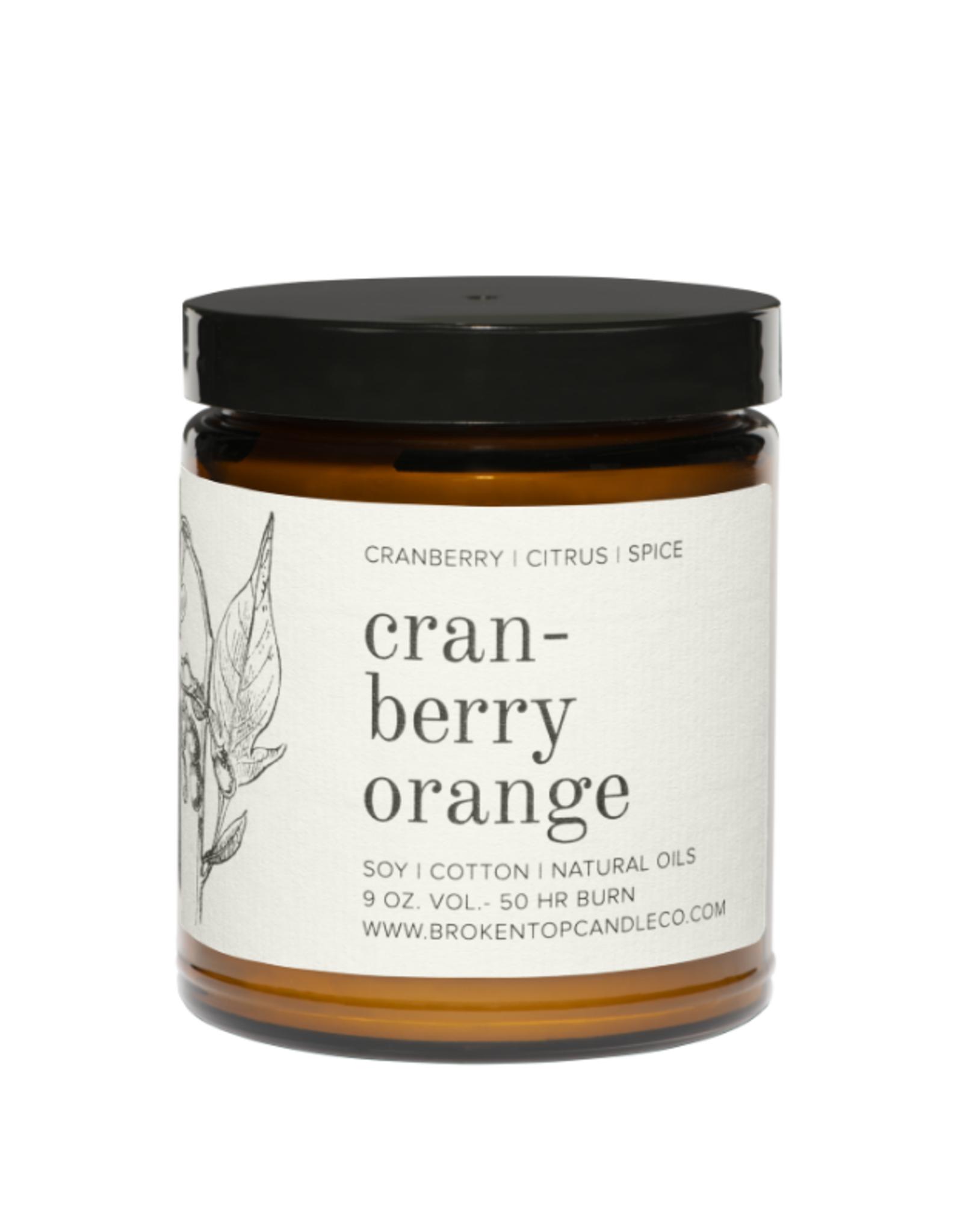 Broken Top Candle Bougie - Cranberry orange - 50h
