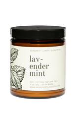 Broken Top Candle Bougie - Lavender mint - 9oz