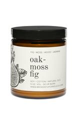 Broken Top Candle Bougie - Oakmoss fig - 9oz