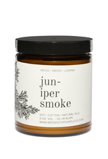 Broken Top Candle Bougie - Juniper smoke - 9oz