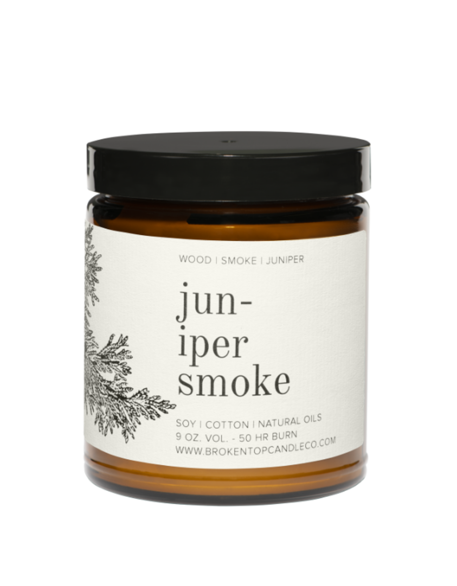 Broken Top Candle Bougie - Juniper smoke - 50h