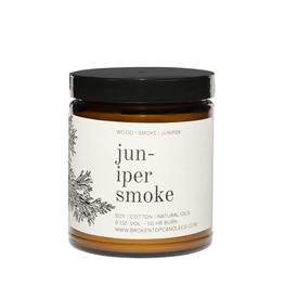 Broken Top Candle Bougie - Juniper smoke - 9oz