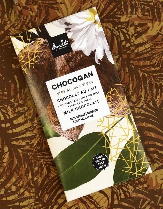 Chocogan chocolat au lait - Comptoir Chocolat
