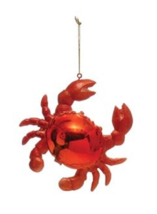 Ornement résine - Crabe