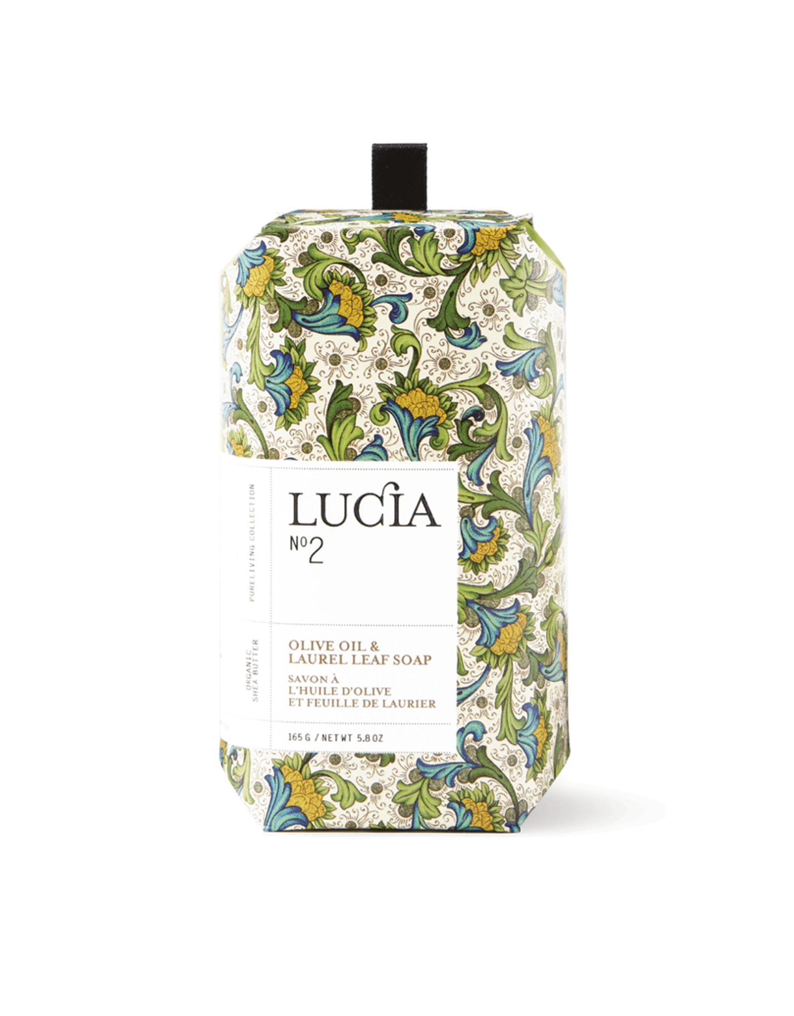 Lucia Savon N°2 - Olive et laurier