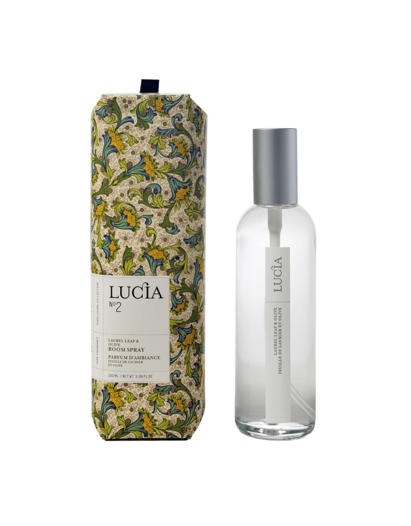 Lucia Parfum d'ambiance N°2 - Olive et laurier