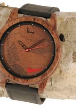 Montres inua Montre en bois - Rocky Mountain - Noyer