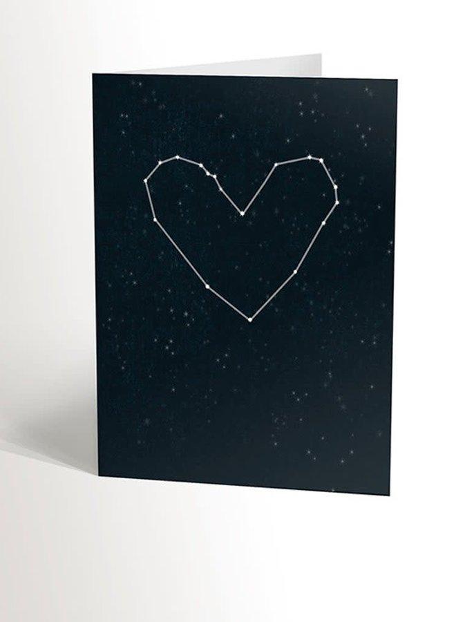 Carte de souhaits - Ciel étoilé