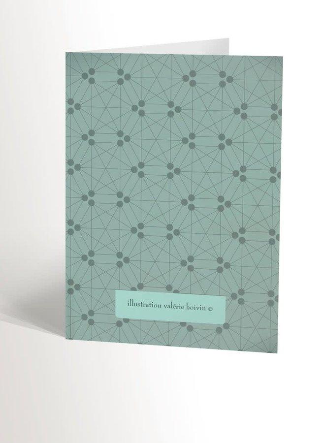 Carte de souhaits - Hérisson mignon