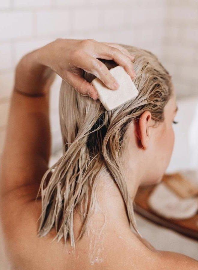 Shampoing en barre - Orange et Eucalyptus