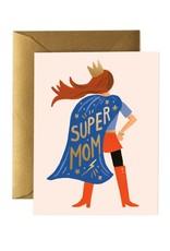 Rifle paper co. Carte de souhaits - Super mom