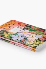 Rifle paper co. Ensemble de 3 carnets - Marguerite