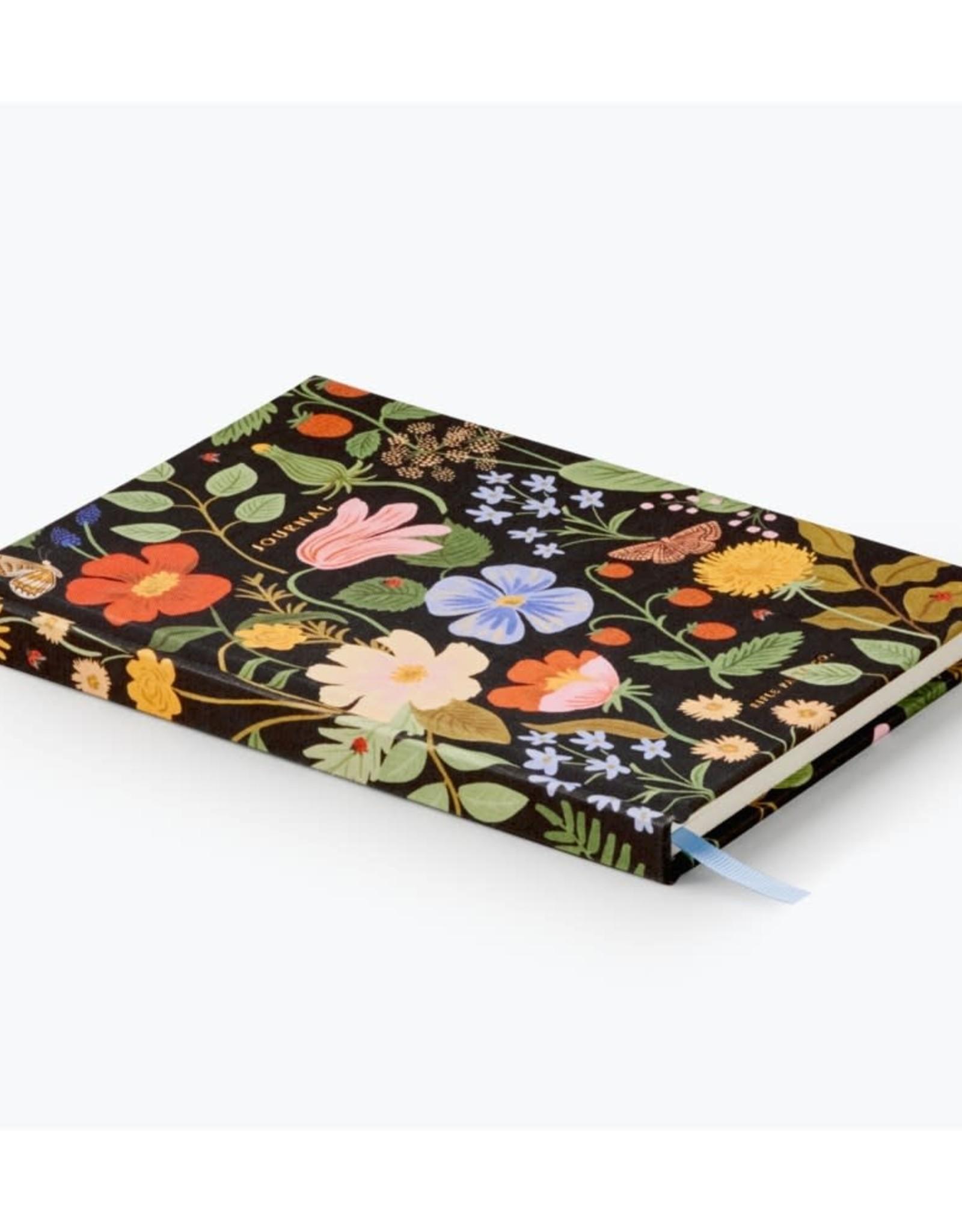 Rifle paper co. Journal en tissus - Strawberry Fields
