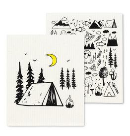 Essuie-tout réutilisable - Camping - Ens. de 2