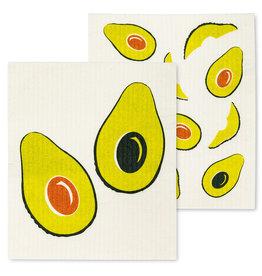 Essuie-tout réutilisable - Avocats - Ens. de 2
