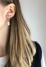 Flora Ciccarelli Anneaux 16mm - Perle Biwa
