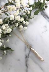 """Flora Ciccarelli Collier 16"""" - Perle d'eau douce aiguille"""