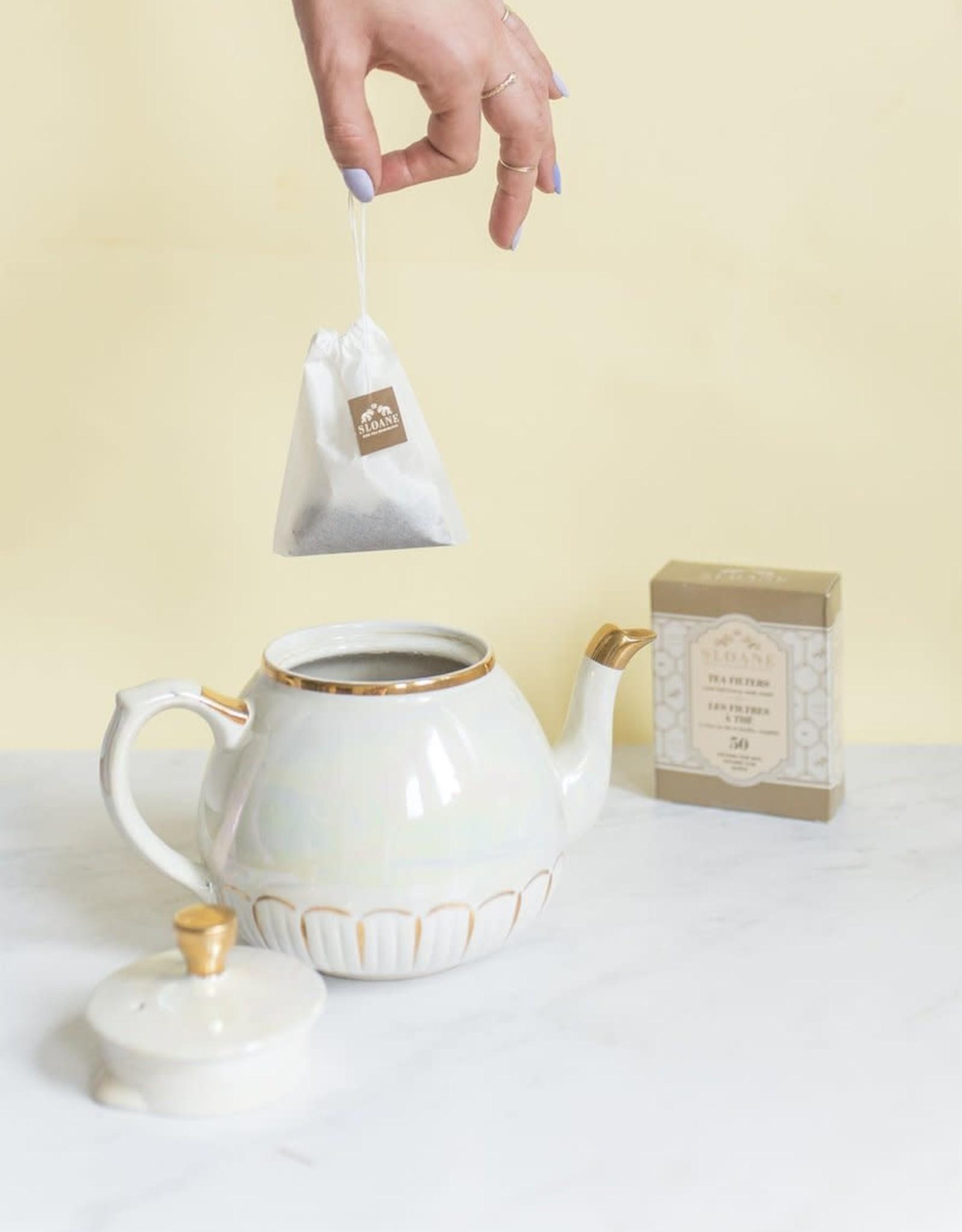 Sloane Filtres à thé - 50 par boîte