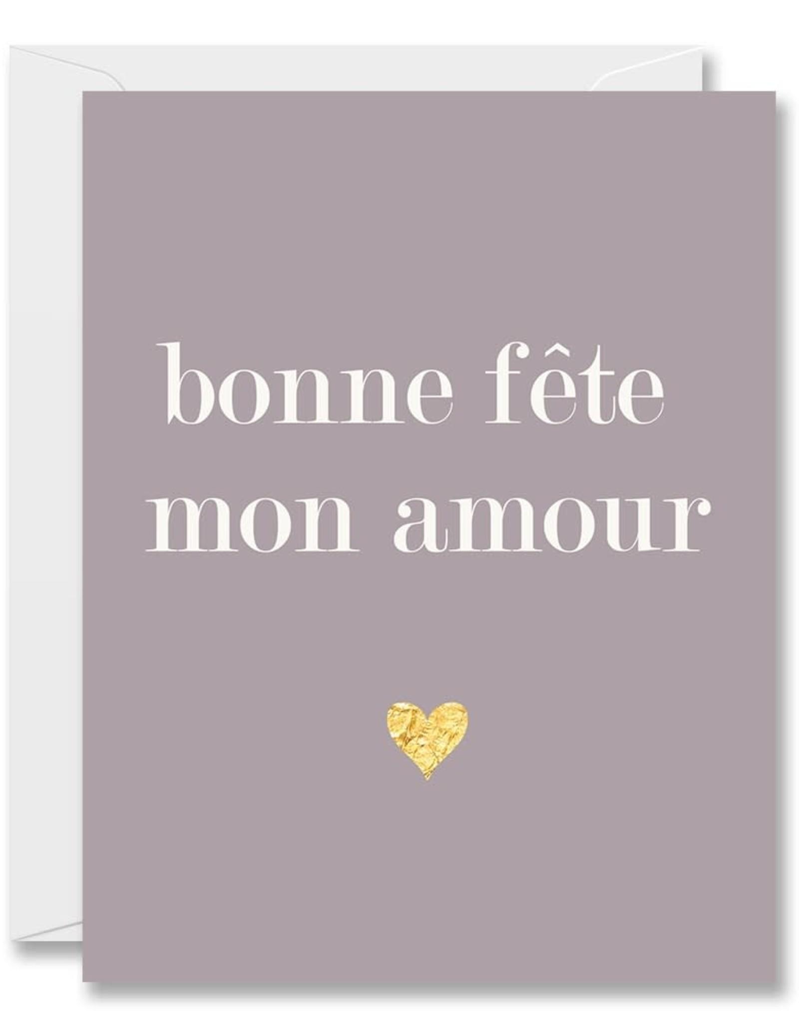 Carte de souhait - Mon amour
