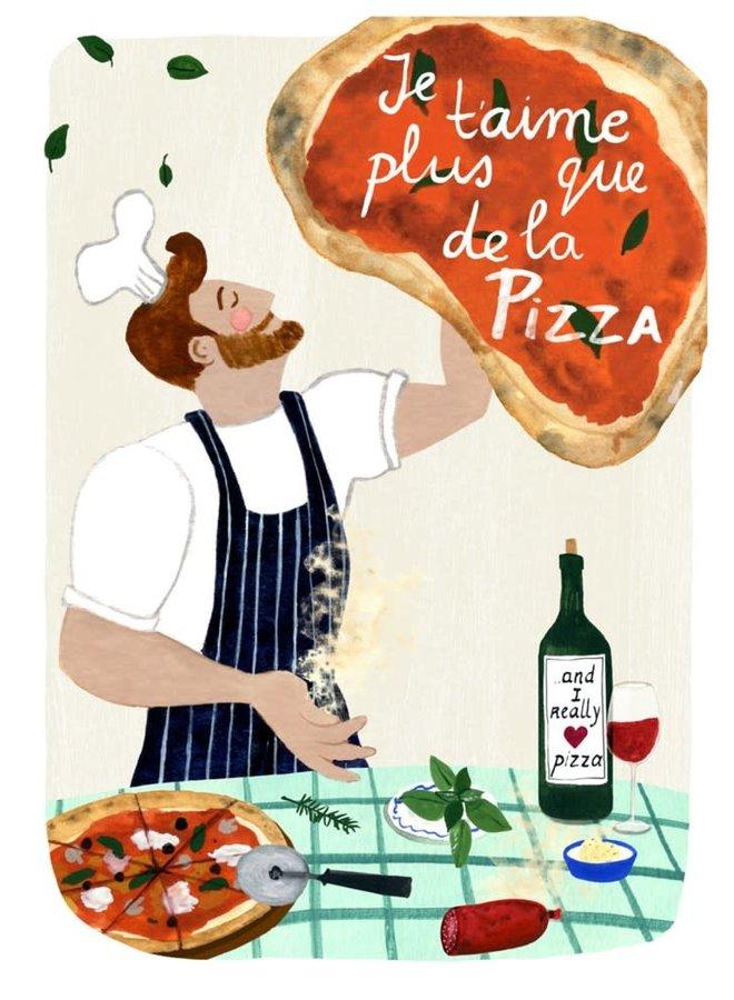 Carte de souhaits - Pizza
