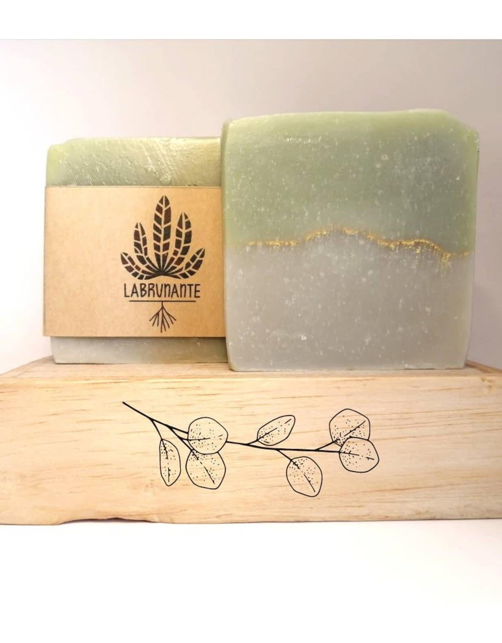 La Brunante Savon - Eucalyptus et argile verte