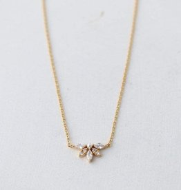 Lover's tempo Collier Harlowe - Plaqué or