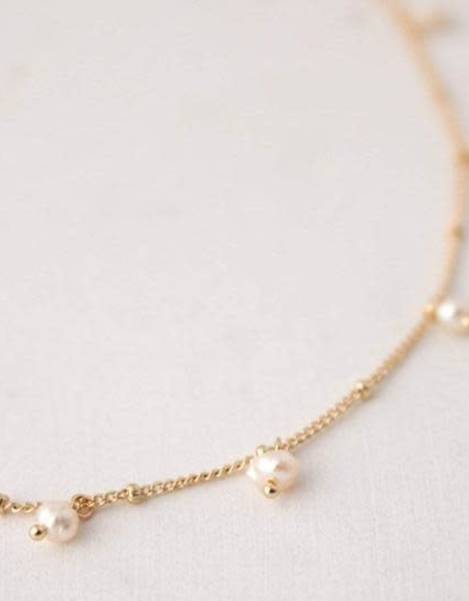 Lover's tempo Collier Dot Pearl