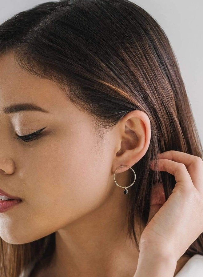 Boucles d'oreilles - Cirque Crystal - Jet