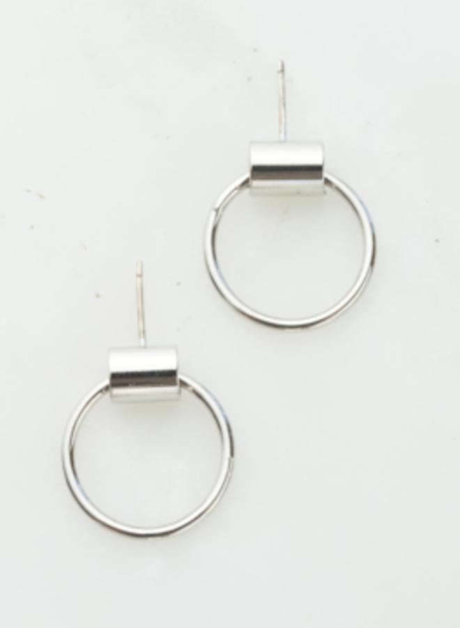Boucles d'oreilles - Small Swing - Plaqué argent