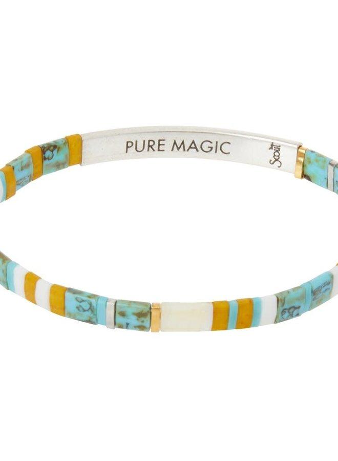 Bracelet Miyuki - Pure Magic - Turquoise