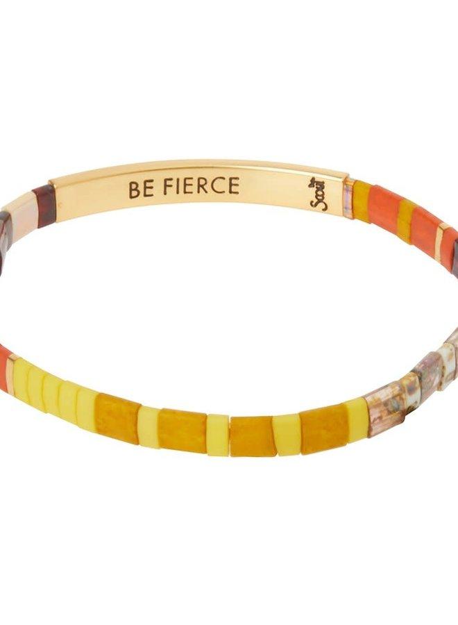 Bracelet Miyuki - Be Fierce - Sunset