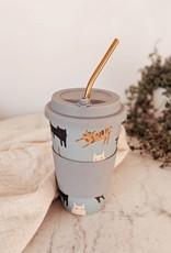 Mimi & August Tasse réutilisable en bambou - Pepito Cafe Yo