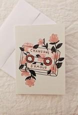 Mimi & August Carte de souhaits - Chansons d'amour