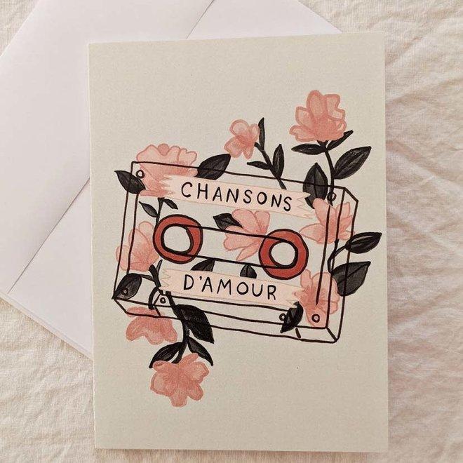 Carte de souhaits - Chansons d'amour