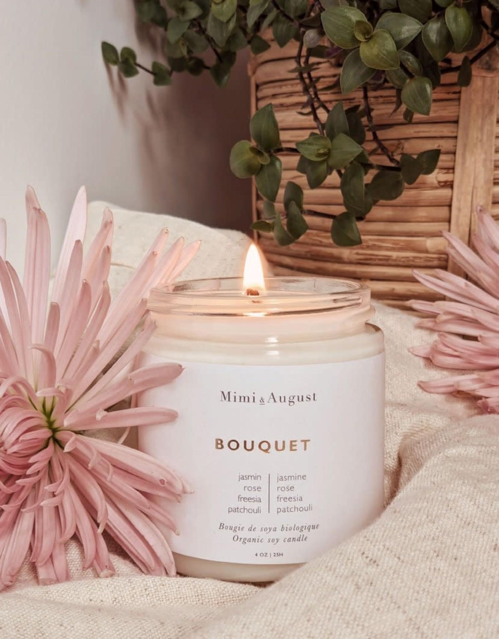 Mimi & August Bougie - Bouquet