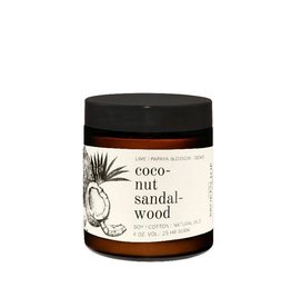 Broken Top Candle Bougie - Coconut sandalwood - 25h