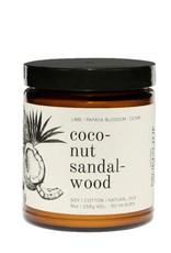 Broken Top Candle Bougie - Coconut sandalwood - 50h
