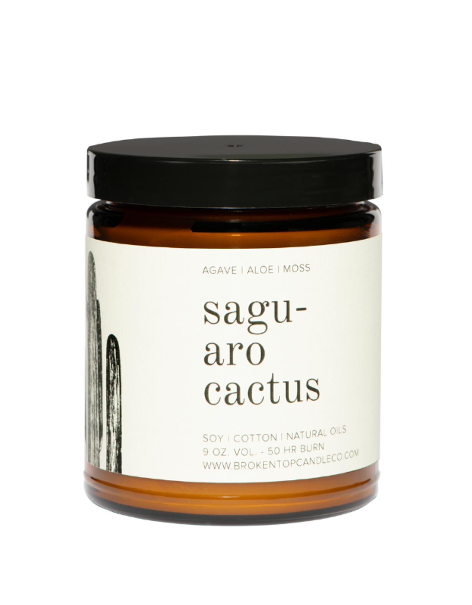 Broken Top Candle Bougie - Saguaro cactus - 50h
