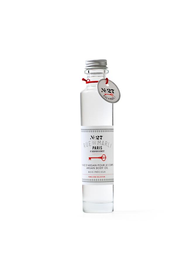 Huile hydratante  pour le corps N°27 - Bois précieux