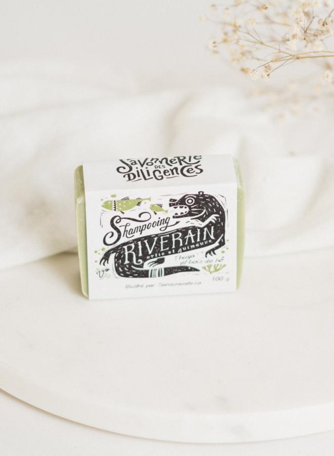 Shampooing en barre - Riverain - Les Trappeuses
