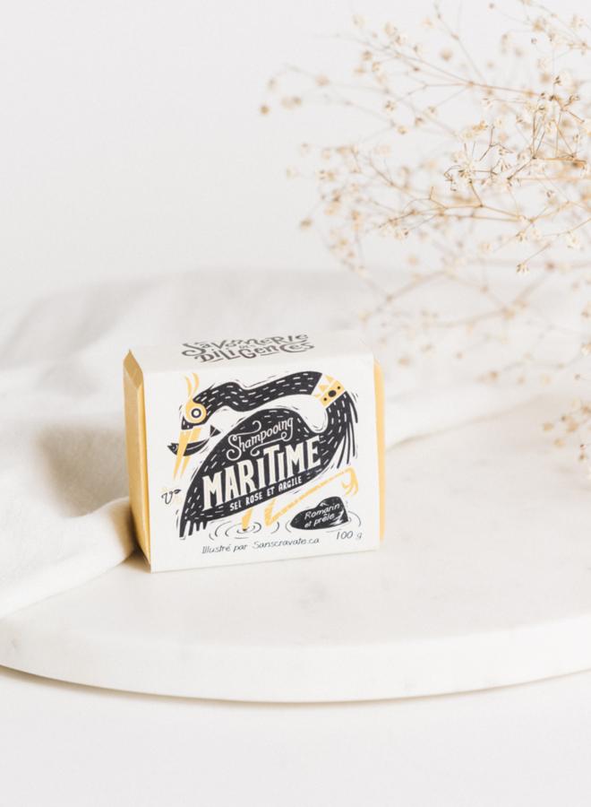 Shampooing en barre - Maritime - Les Trappeuses