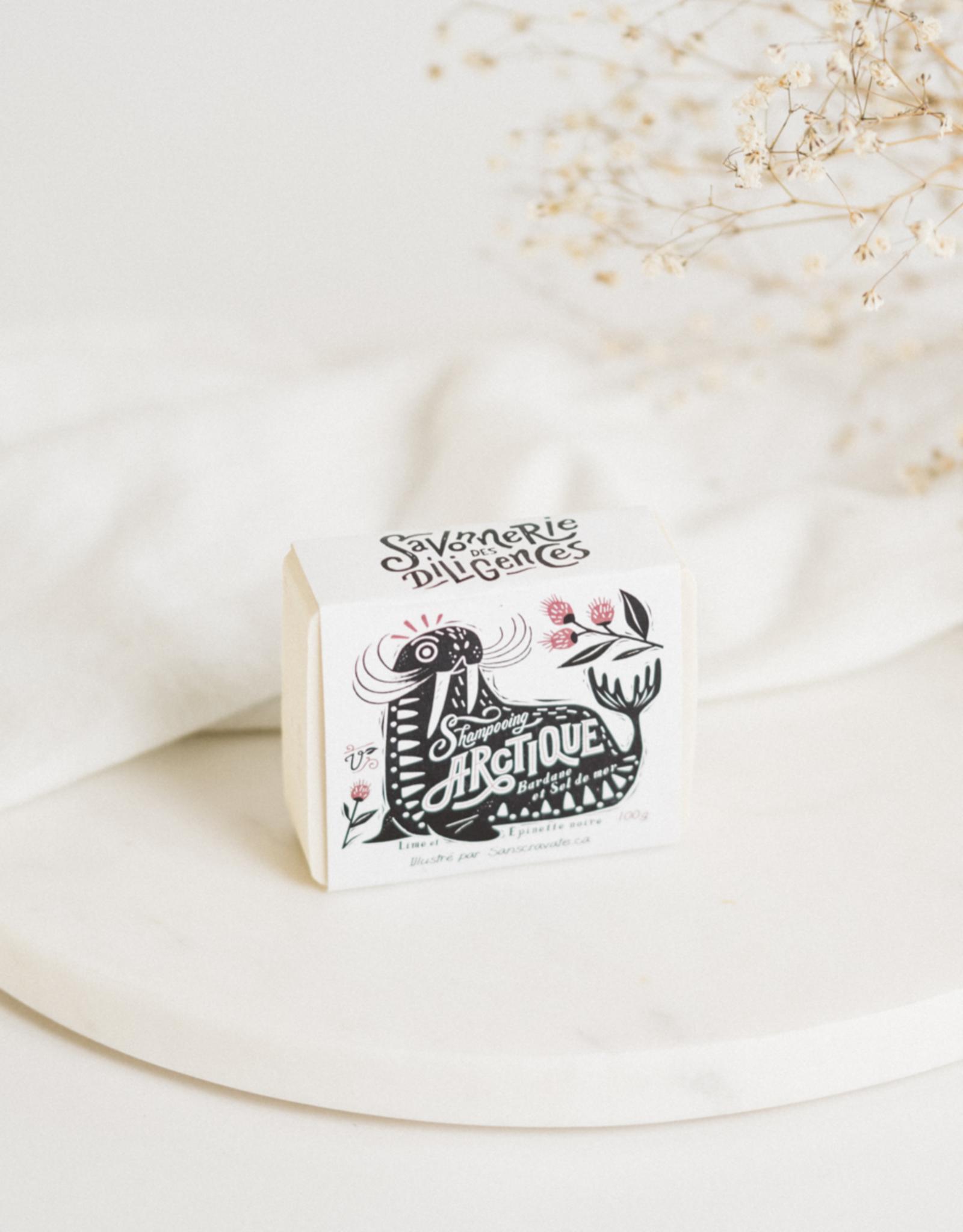 Savonnerie des Diligences Shampooing en barre - Arctique - Les Trappeuses