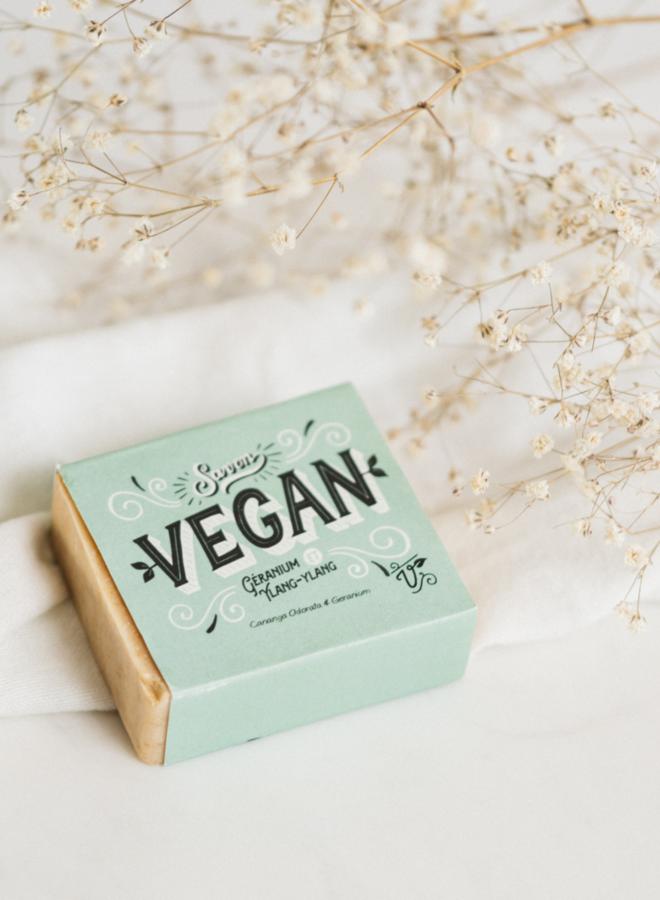 Savon Vegan - Géranium et ylang-ylang