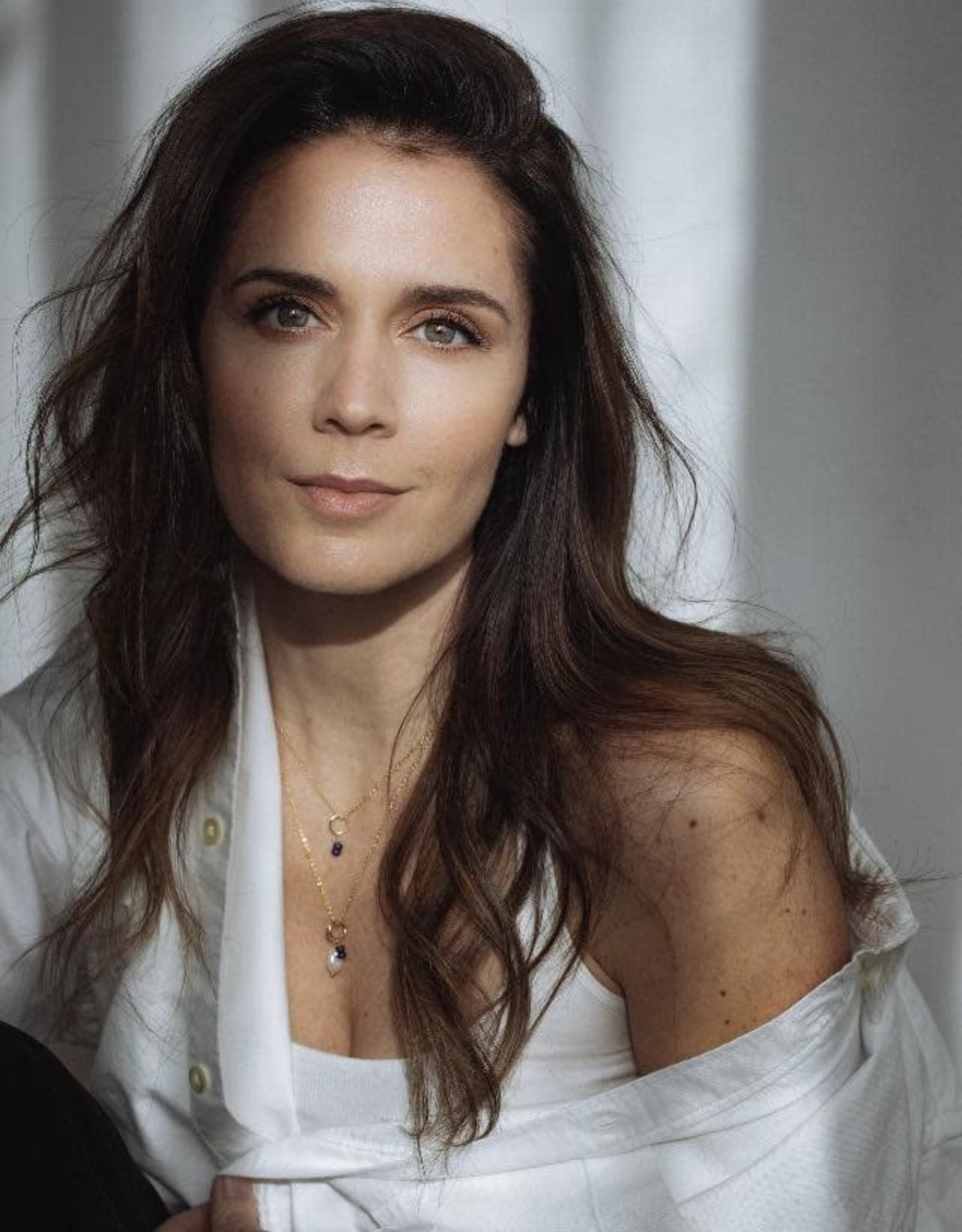 Flora Ciccarelli Collier 16'' - Ombré avec billes - Fondation Marie-Vincent