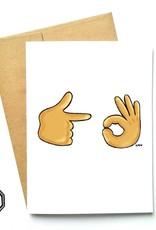 Carte de souhaits - Emoji
