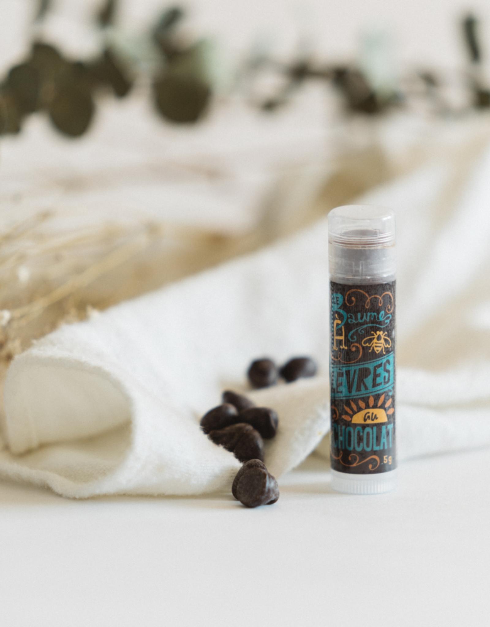 Savonnerie des Diligences Baume à lèvres - Chocolat