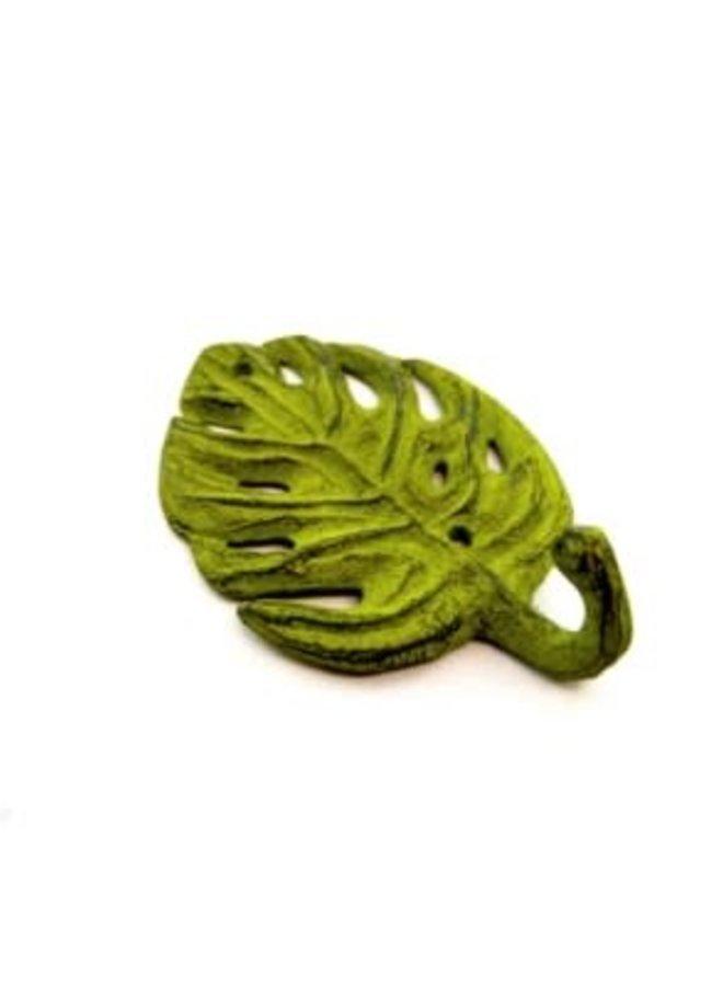 Crochet - Feuille verte