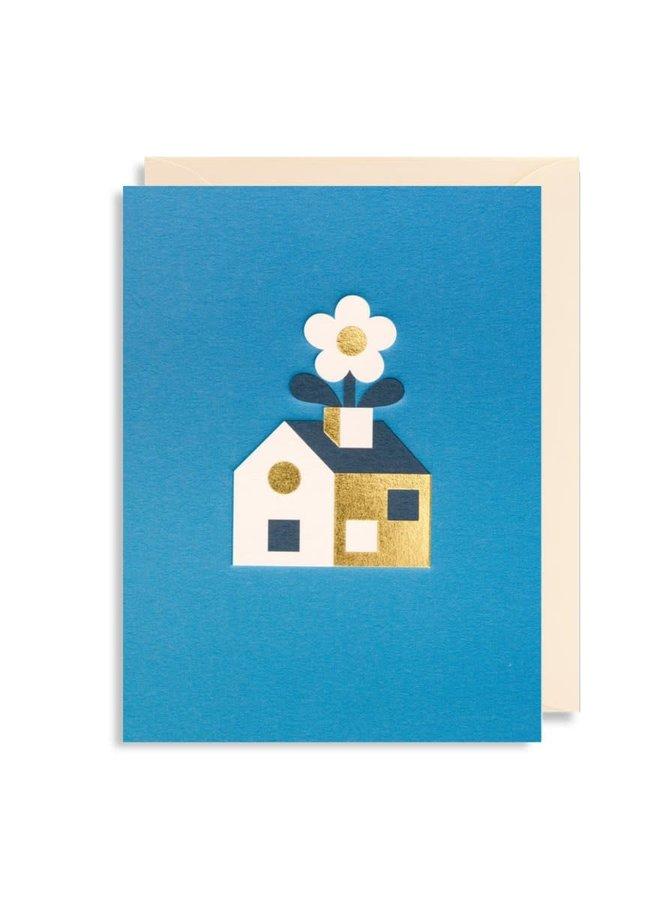Carte de souhaits mini - New home
