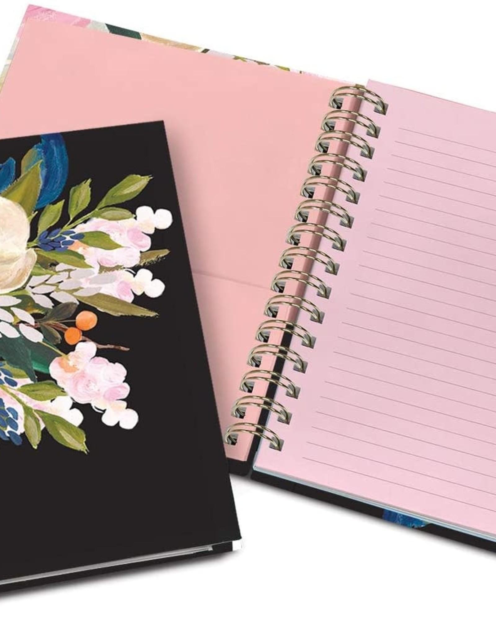 Cahier de notes - Spirale et onglets