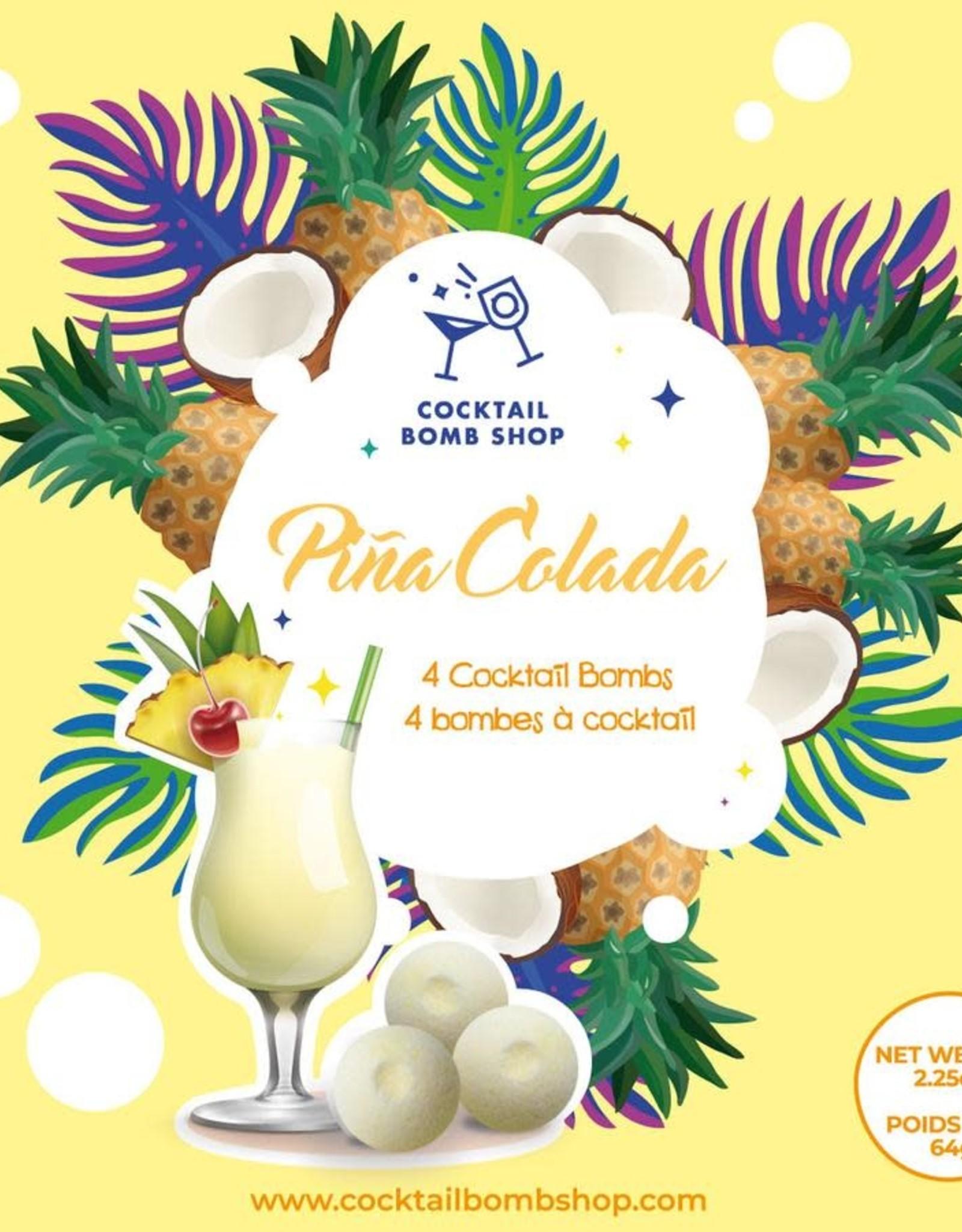 Cocktail Bomb Shop Bombe à cocktail - Piña Colada - Boîte de 4